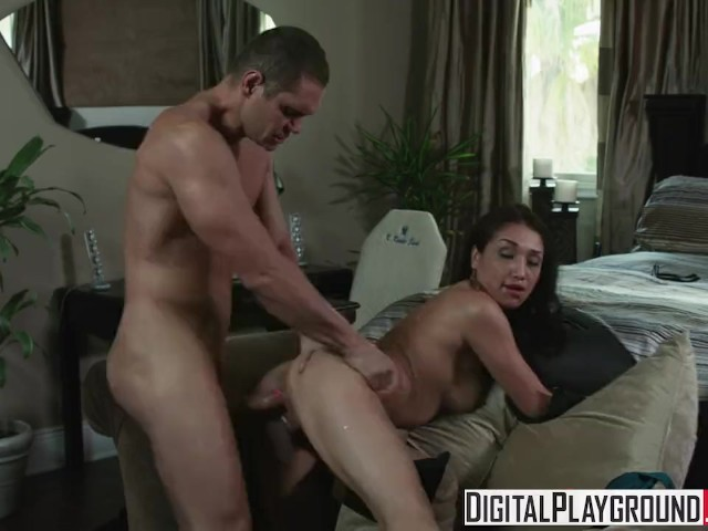 Digital Playground - Vicki Chase Gets Spanked and Fucked by Nacho Vidal While Wife Watches