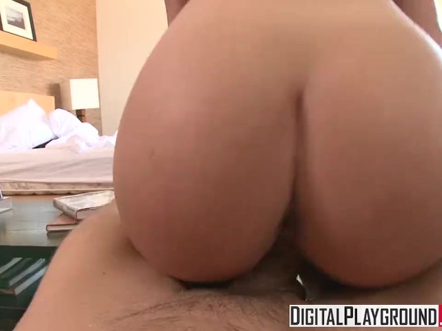 Digital Playground - Katie St. Ives Deepthroats and Rides Cock Pov