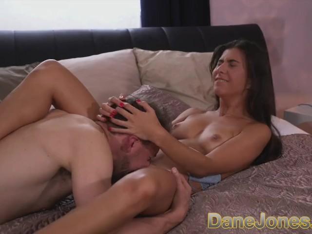 Dane Jones Pert Little Fucker Bouncing Her Tight Ass on a Big Fat Cock