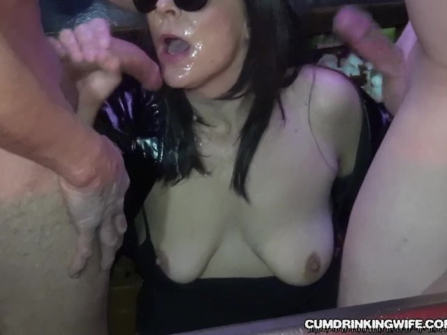 Slutwife Gangbanged by Over 20 Guys at a Bar - Free Porn Videos - YouPorn