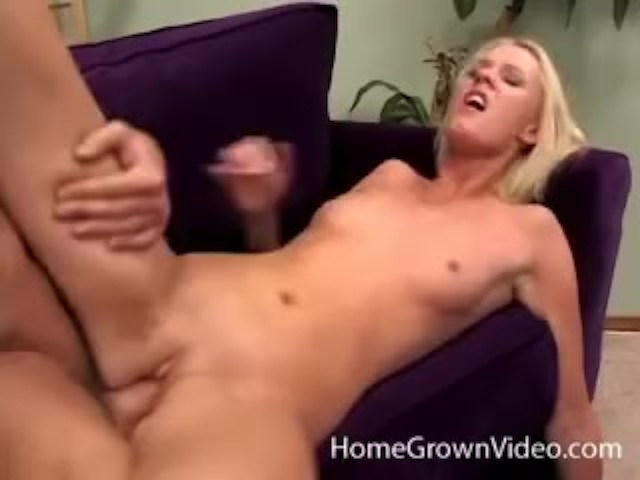 Flat Chested Blonde Amateur Fucked Hard by a Big Dick - Free Porn Videos -  YouPorn
