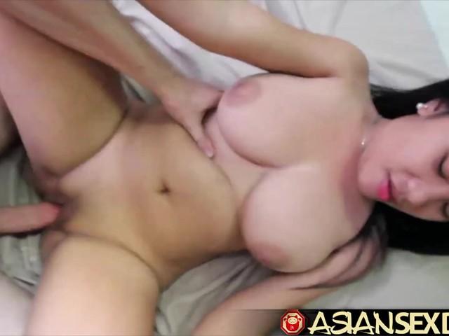 Asian Sex Diary - White Cock Fucks Asian Babe With -9675
