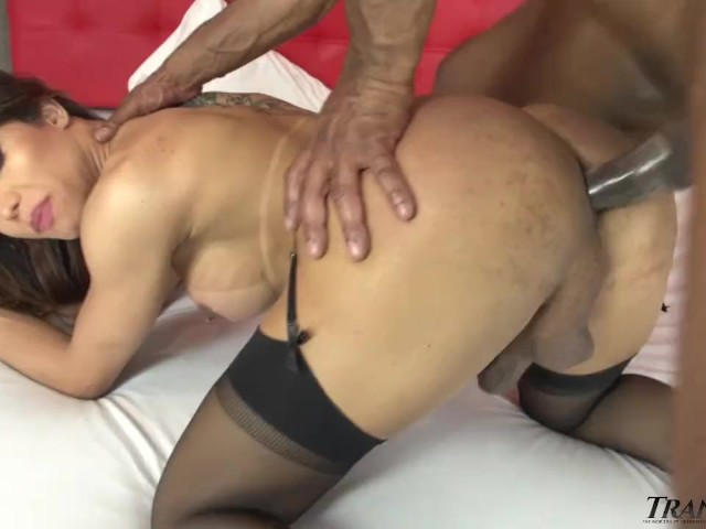 Asian Ts Ass Plunged by Huge Dick