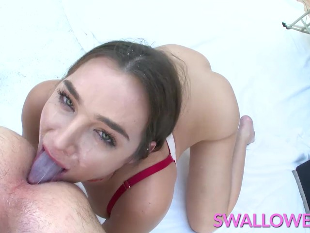 Swallowed Busty Blair Williams Makes His Cock Disappear
