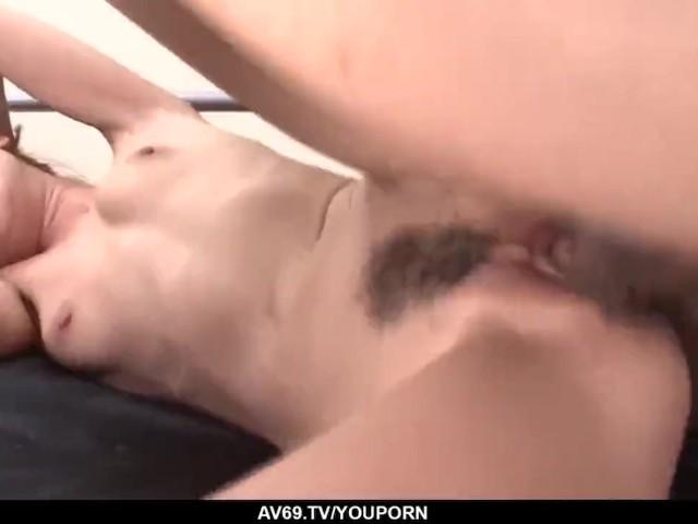 Intense Sex Scenes With Slim Japanese Rika Kurachi - More at 69avs.Com