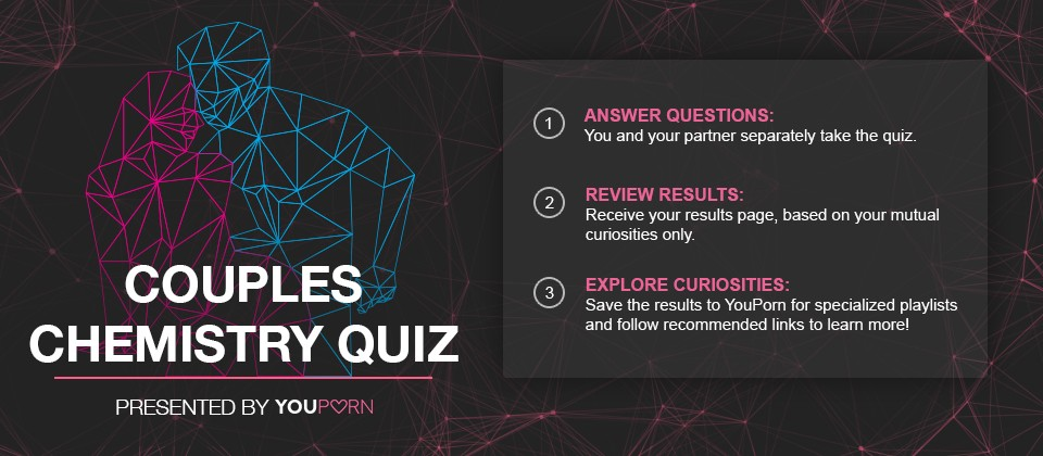"""YouPorn Launches """"Couple's Chemistry Quiz"""" to Help Couples Explore Mutual Curiosities"""