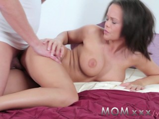 MOM Horny Big Breasted MILF needs her fill of Cum
