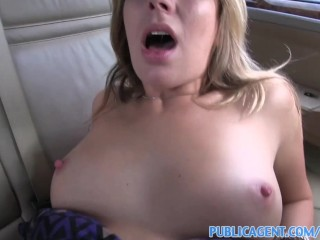 PublicAgent Ani gets fucked outdoors and in the car
