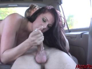 Bláznivý sex v aute