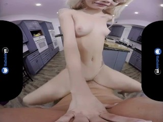 BaDoinkVR.com Fuck Natural Titted Blonde Elsa Jean In POV