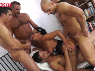 LETSDOEIT – Italian Mature Wife Gets Shared With Friends