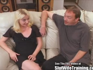 Cutie Blonde Housewife Fucked