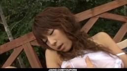 Asuka Ishihara loves cracking...