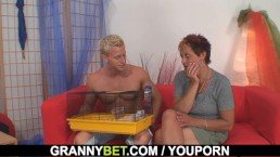 Granny games with hot...