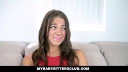 MyBabySittersClub - Sexy Babysitter Fucked...