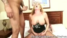 Blonde Slut Sunny Jay...