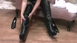 Kinky schoolgirl busty babe...