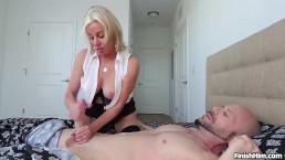 Sexy milf handjob...