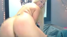 Horny Blonde Babe Drilled...