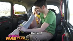 Female Fake Taxi Shy...