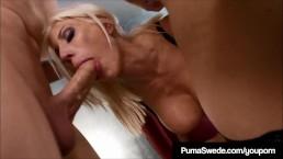 Blonde Amazon Puma Swede...