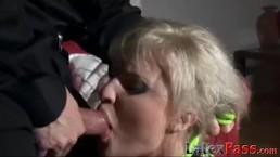 Blonde vixen ass fucked...