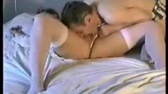 Daily horny homemade couple having some fun in bed