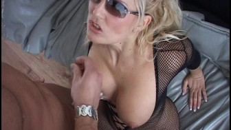 Racy blonde banged on the couch 4/4