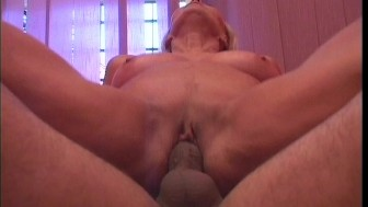 Old hottie devours young twink 5/5