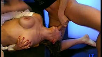 German Babe Fucked with Monster Facials!