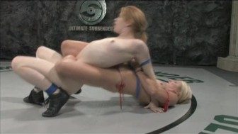 Madison loses to Vendetta in a naked catfight!