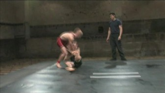 Naked Kombat: fighters engage in real combat