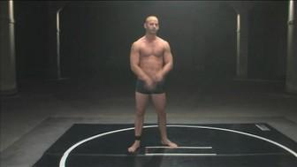 Wolf Hudson & Patrick Rouge wrestling naked