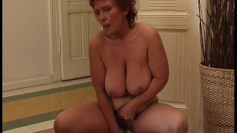 Redhead all over herself