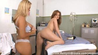 Ashlynn Brooke & Faye & Devon Get A Toy Checkup