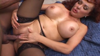 Hot redhead wants to show off her experience [CLIP]