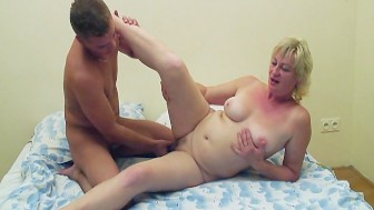 Horny oldtimer can't get enough sex