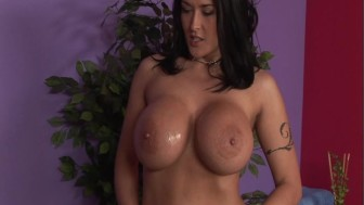"""Carmella Bing in """"Oily Boob Massage"""" p.1"""