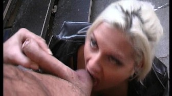 On Her Knees and Drilled Hard