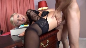 Helena Sweet office sex