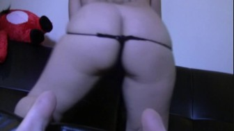 Sammy Spade's ass in your face