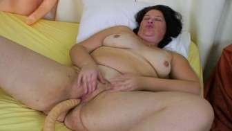 Big Dildo for a BBW
