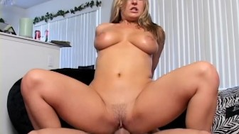 Big Tit Milf is Home Bored and Horny