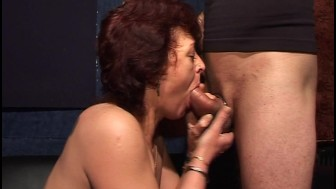 The cock ring makes him and her happy (CLIP)