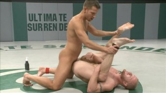 Shane wrestles and fucks muscle stud Luke