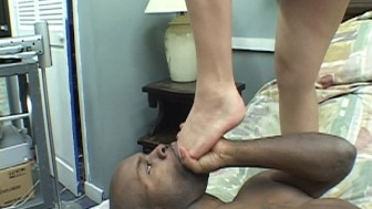 Asian girl and black guy play well together PT.1/4