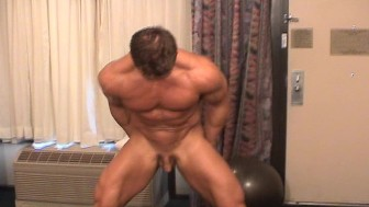 Muscular Marc Braun has one small muscle