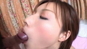 Japanese beauty gets her tight hairy pussy fucke