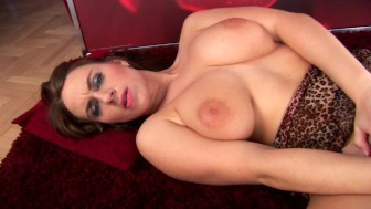 Solo scene with busty Erin