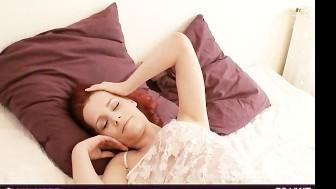 cute Ariel in her bed